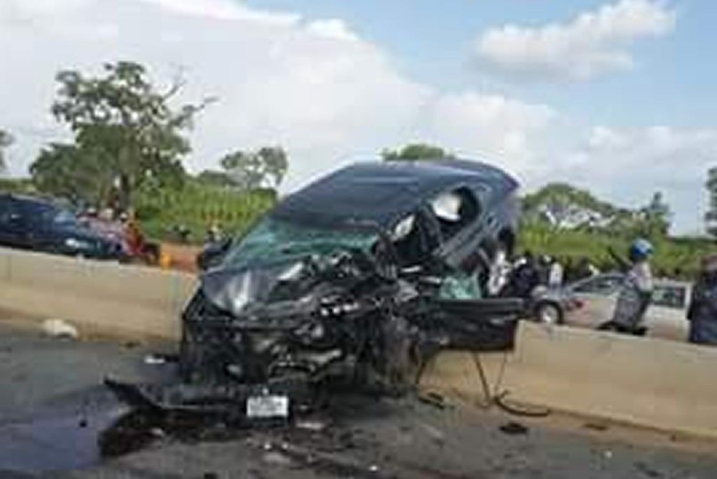a-crashed-car-on-a-highway