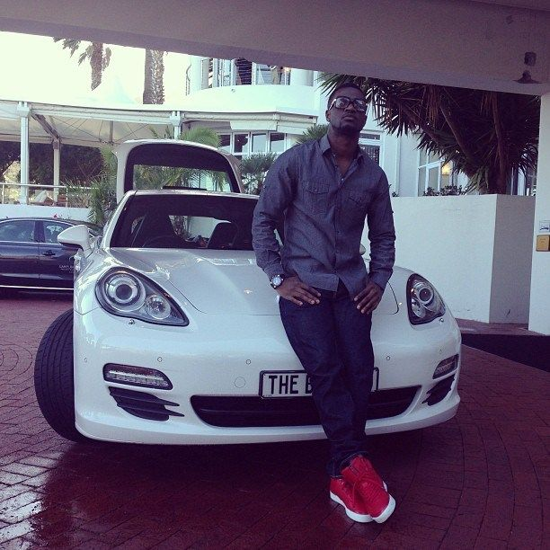 Paul-Okoye-and-his-Porsche