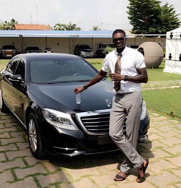 Emmanuel-Adebayor-and-his-benz
