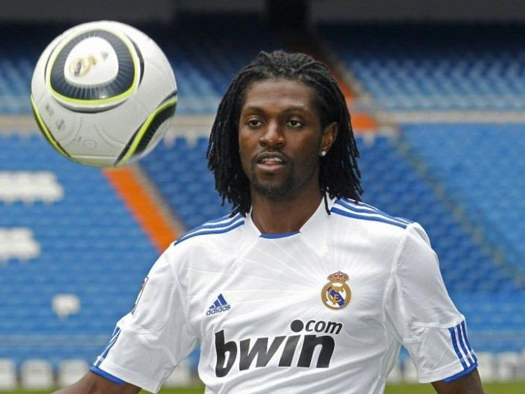 Image result for Emmanuel Adebayor