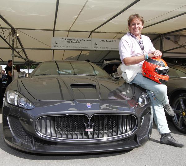TV-Chef-James-Martins-and-his-Ferrari