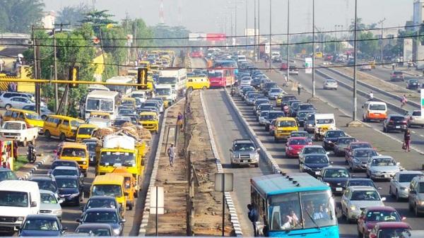 Lagos-city-showing-traffic