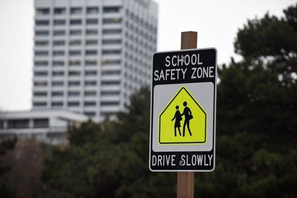 image-of-a-school-road-sign