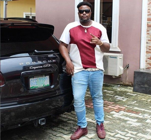 Adewale-and-his-Porsche-car