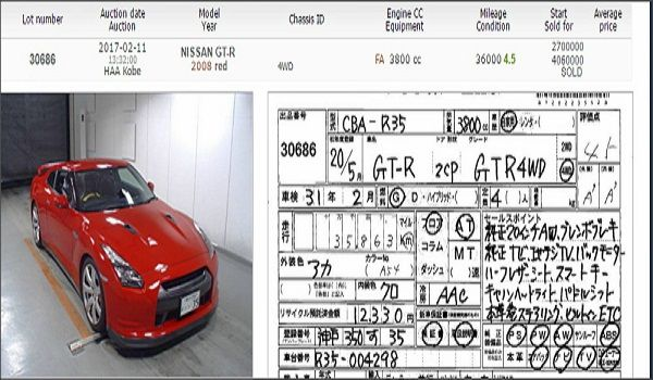 An-auctioned-car-with-certificate