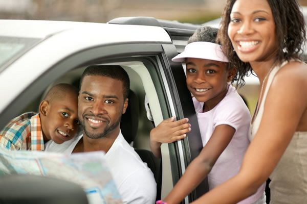 Family-around-a-car