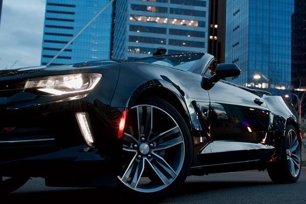angular-front-of-a-black-car