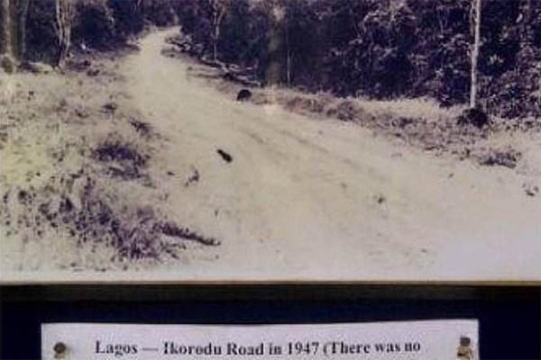 Image-of-Lagos-Ikorodu-road-in-1947
