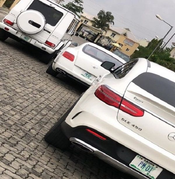 Image-showing-Pretty-mike's-expensive-white-cars
