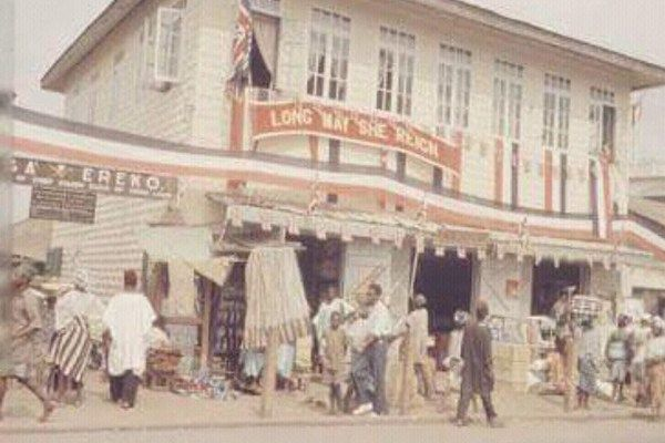 Image-showing-Ereko-Street-Lagos-Island-1956