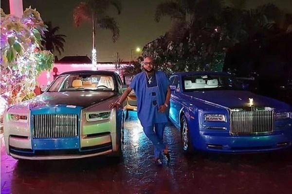 Image-of-Nigeria-Billionaire-E-money-and-His-Phantom-cars