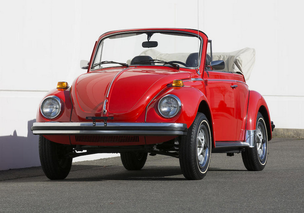 Red-Volkswagen-Beetle