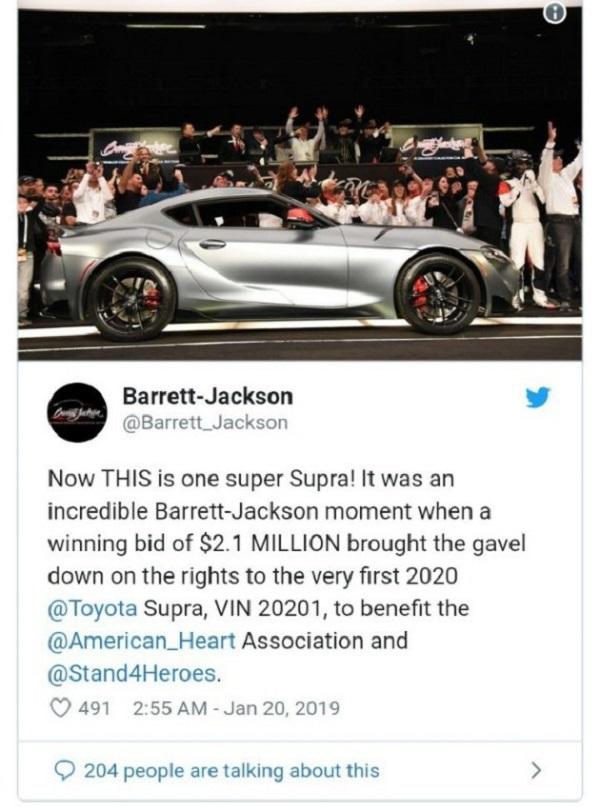 Image-of-Barrett-Jackson-Scottsdale-auction-twitter-post