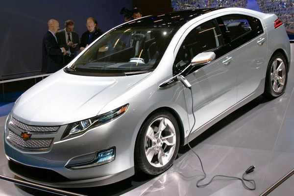 a-white-Chevrolet-Volt