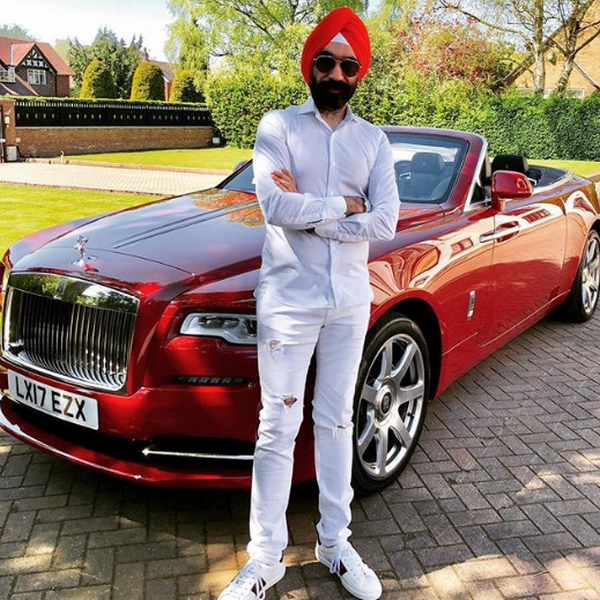 Reuben-Singh-and-his-red-car