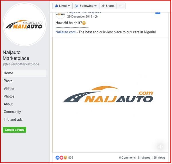 Naijauto-Marketplace-Facebook-page