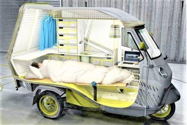 keke-napep-with-a-bed