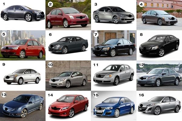 Different names of cars with pictures (all car types ...