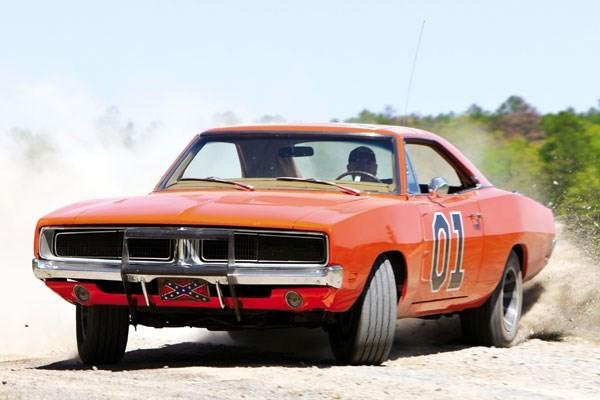 Dodge-car-on-road
