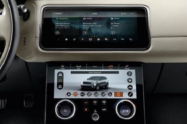 Image-showing-dual-10-inch-display-of-Range-Rover-Velar-and-Evoque