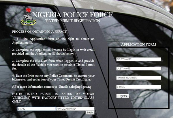 Dedicated-web-portal-for-tinted-permit