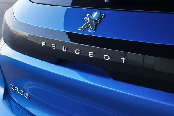 Peogeot-car-rear-end