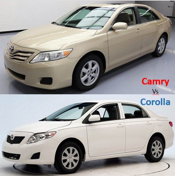 Corolla Vs Camry >> Expert Car Comparison Camry Vs Corolla Which Used Car