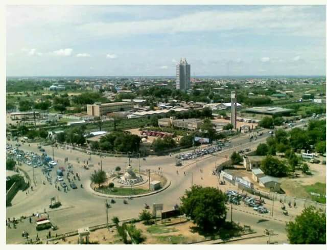 Aerial-photo-of-Kano-roads-1970