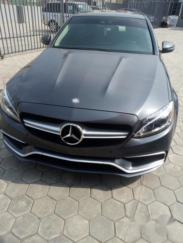 Used Mercedes-benz C300 2017 Gray for sale