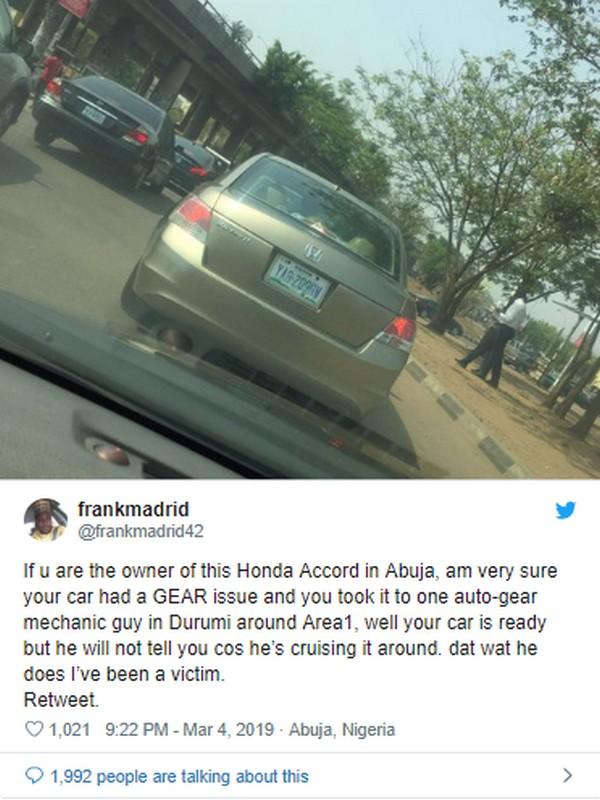 Tweet-post-about-Abuja-mechanic