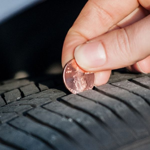 A-penny-to-check-the-tread-depth