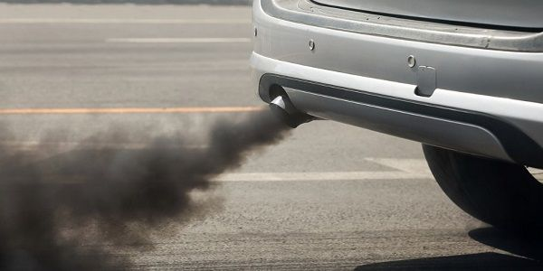 Black-smoke-from-a-car-exhaust