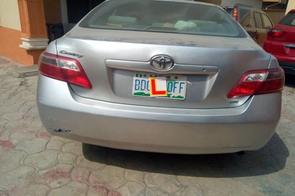 a-Toyota-Camry-with-learner-sign-at-its-back