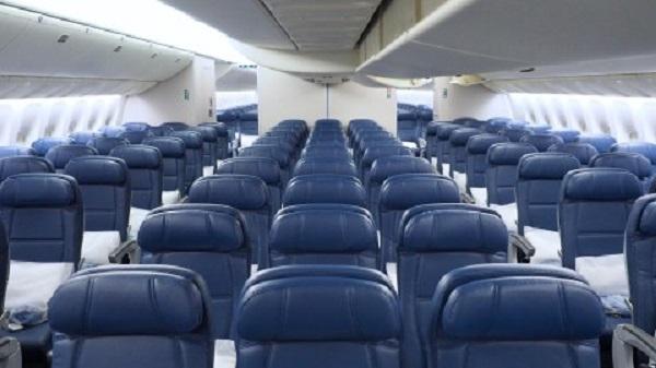 Interior-cabin-of-Delta-airline-plane