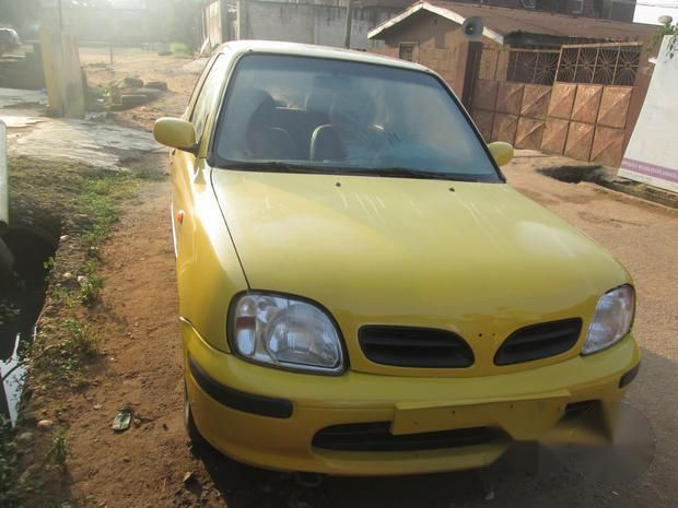 Nissan Micra 1999 Yellow For Sale