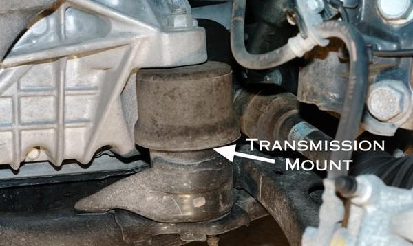 transmission-mount-on-car