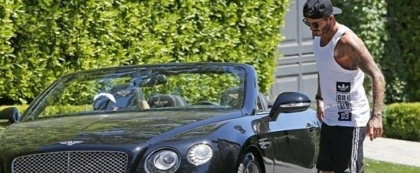 Beckham-beside-his-Bentley