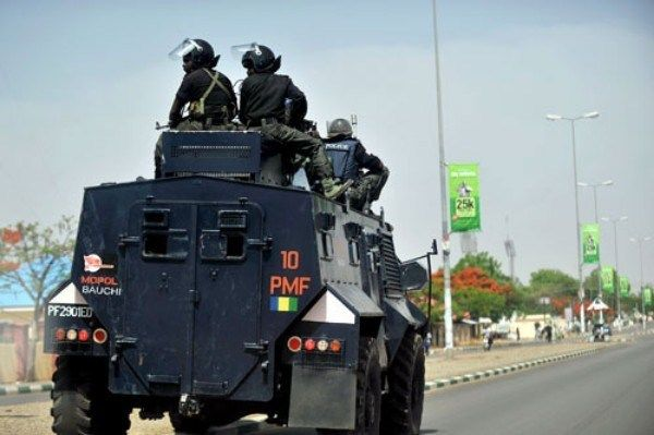Nigerian-police's-modified-Armored-personnel-carriers-vehicle