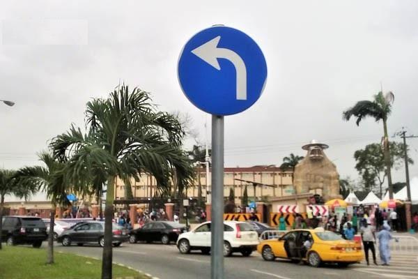 Dangerous-Turn-Left-sign