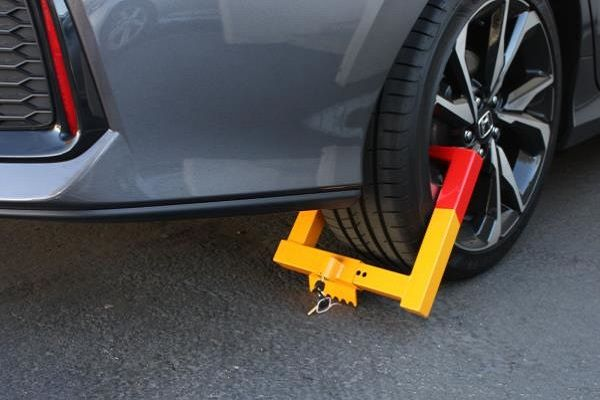 a-clamped-car-tyre