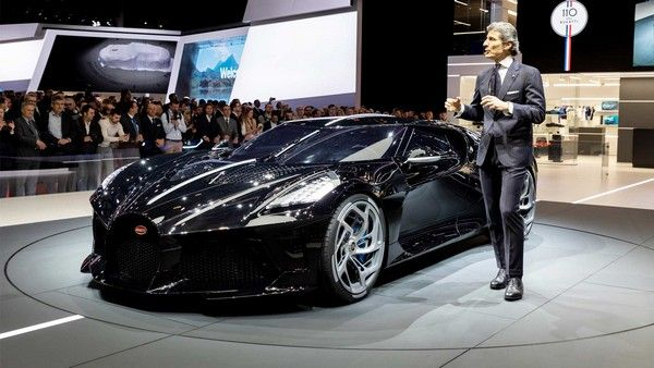 Bugatti La Voiture Noire owner must wait 30 months to get the most expensive car in the world ...