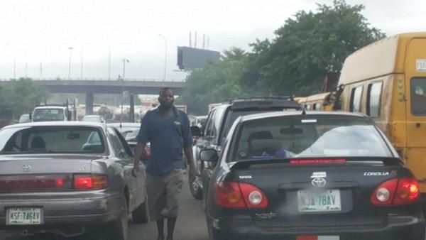 Lagos-gridlocks