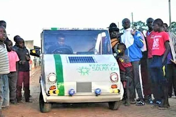Kenyan-solar-power-car