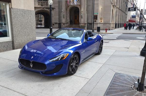 Maserati-Granturismo-Convertible-parked-on-the-street