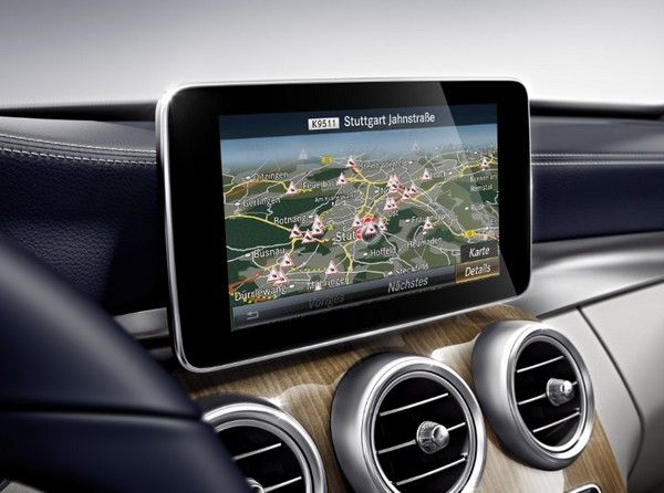 Mercedes-Benz-C-Class-infotainment-screen