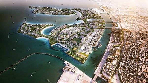 Dubai-waterfront-project