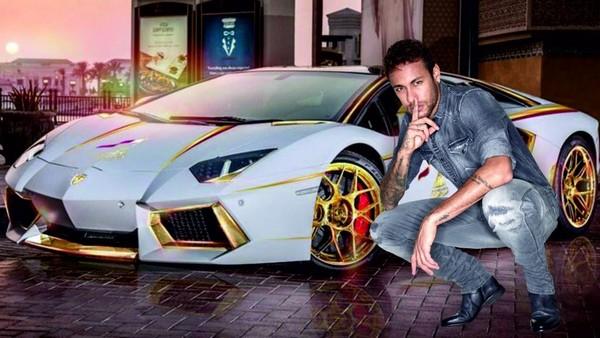 Neymar-and-car