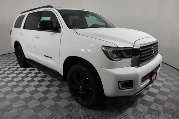 White-2019-Toyota-Sequoia-TRD-Sport