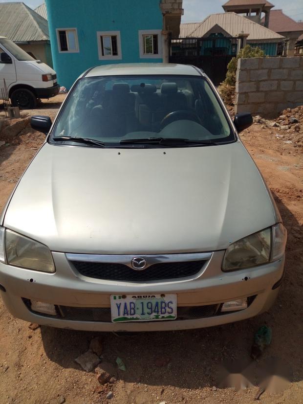 Mazda 323 1998 Silver For 1 6