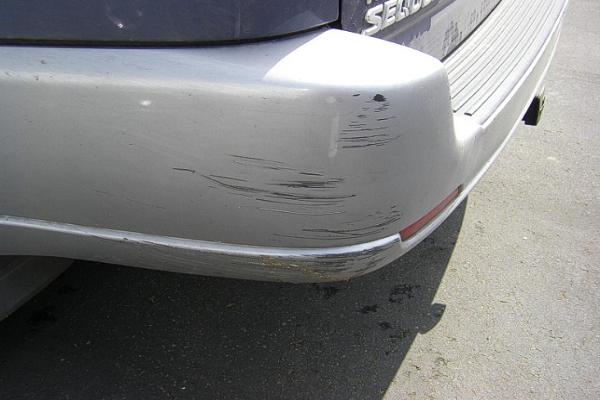 a-scratch-of-the-rear-bumper